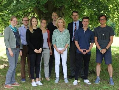 Lehrstuhlteam Prof. Dr. Graf von Kielmansegg